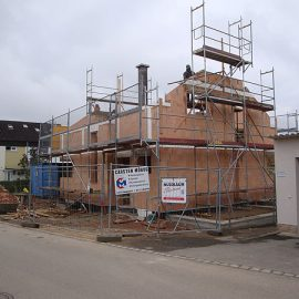 Neubau Einfamilienhaus – Lichtenwald