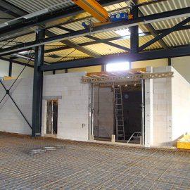 Neue Produktionshalle in Hayingen
