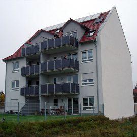 Mehrfamilienhaus mit Tiefgarage in Griesheim, Agilatrudstraße