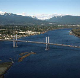 Golden Ears Bridge, Vancouver, Kanada