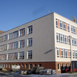 Verbindungsbau Grafschafter Klinikum mit Marienkrankenhaus Nordhorn