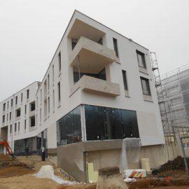 Neubau eines Wohn-und Geschäftshauses mit Tiefgarage in Eichstätt