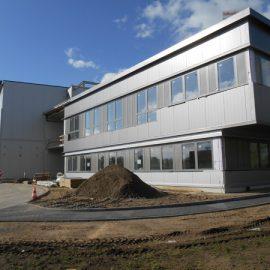Neubau eines Betriebsgebäudes in Lübeck