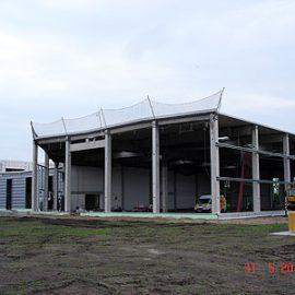 Neubau eines Betriebsgebäudes in Neumünster