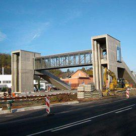 Fußgängerüberquerung in Oppenheim