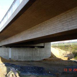Brücken an der Umgehungsstraße B 59n in Rommerskirchen